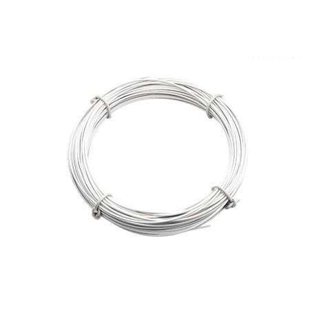 50m ABS 3mm Round White